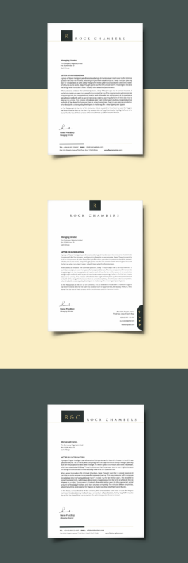 Free Letterhead Template For Legal And Law Services In Microsoft