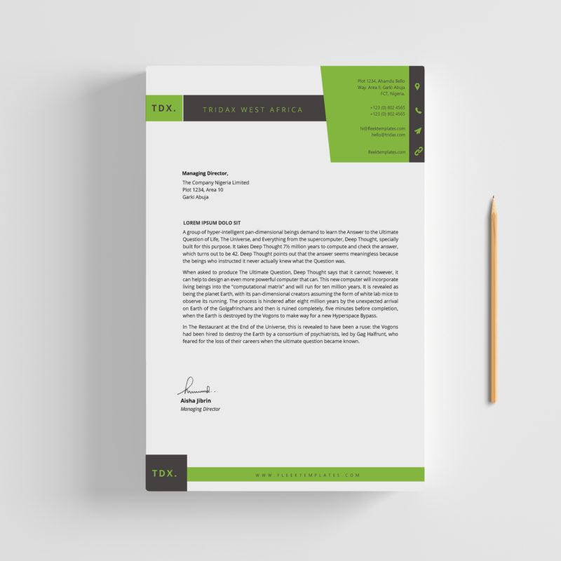 20 Best Letterhead Design Templates: The Best Microsoft Office
