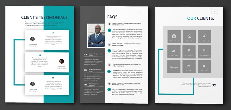 Company profile fleek templates the best microsoft office make your business standout with this modern and professional company profile template this template includes all the necessary information any business wajeb Choice Image
